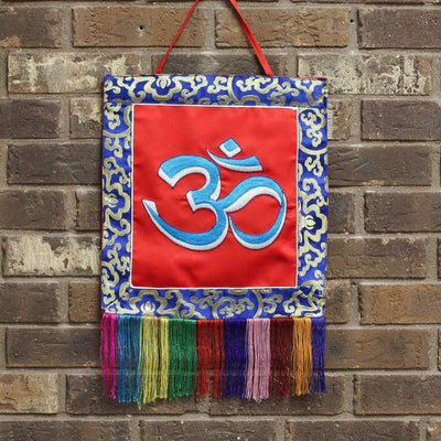 Wall Hangings Default Om Embroidered Wall Hanging fb003