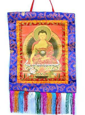 Prajwol /NepaCrafts Wall Hangings Default Shakyamuni Wall Hanging