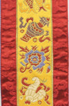 Wall Hangings Default Vertical 8 Auspicious Banner fb040