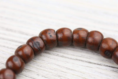 Wrist Malas Antique Bodhi and Dzi Bracelet WM555
