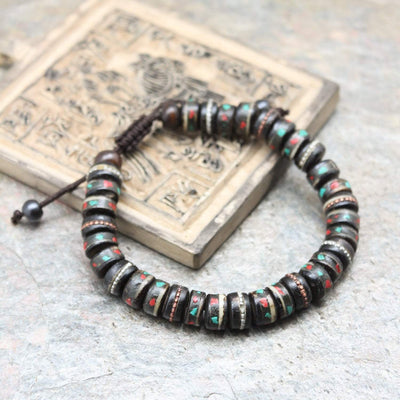 Wrist Malas Buddhist Reflection Traditional Wrist Mala WM468