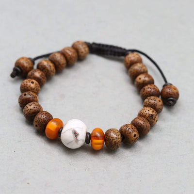 Wrist Malas Lotus Seed Enlightenment Wrist Mala WM483