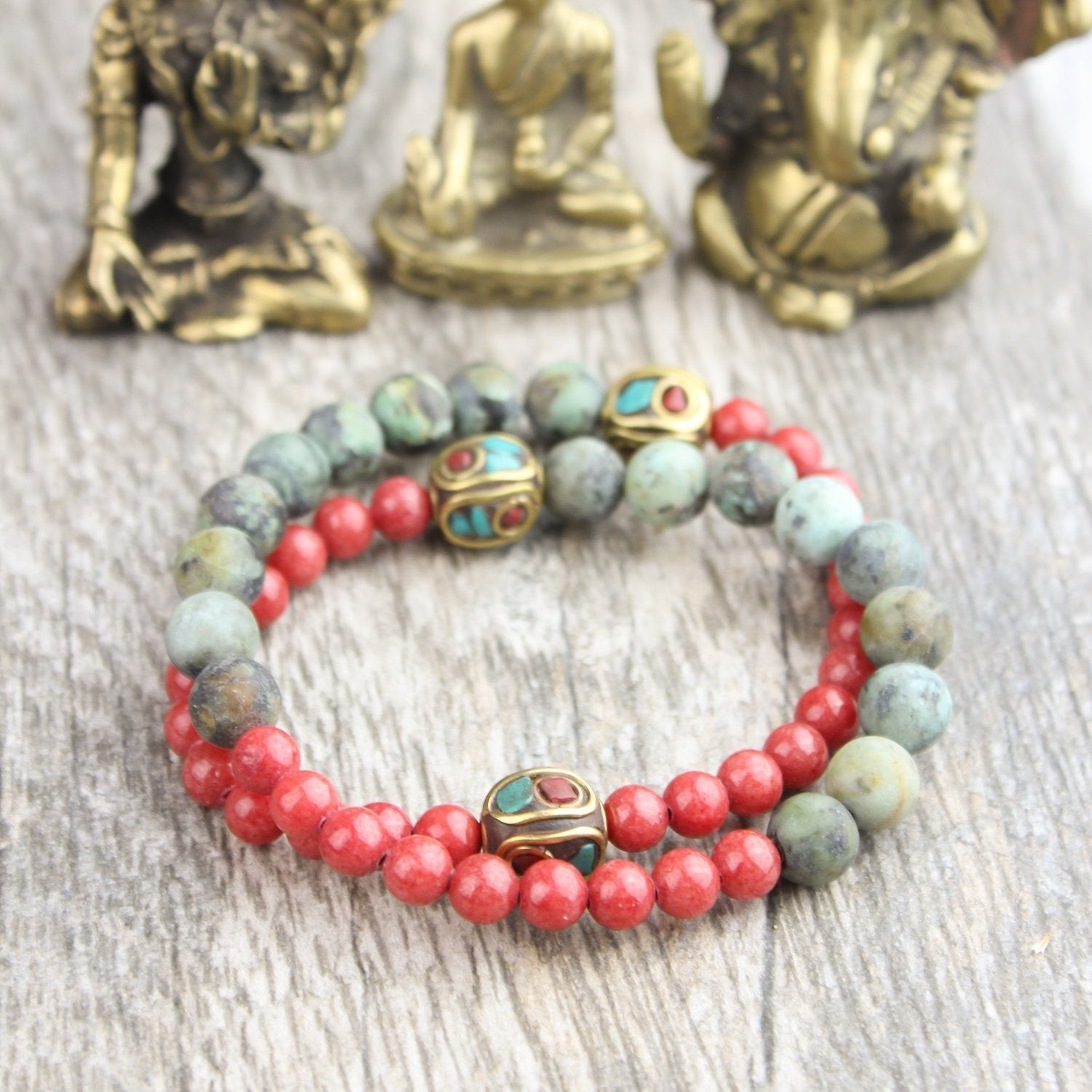 Wrist Malas New Beginnings Double Wrap Mala WM452