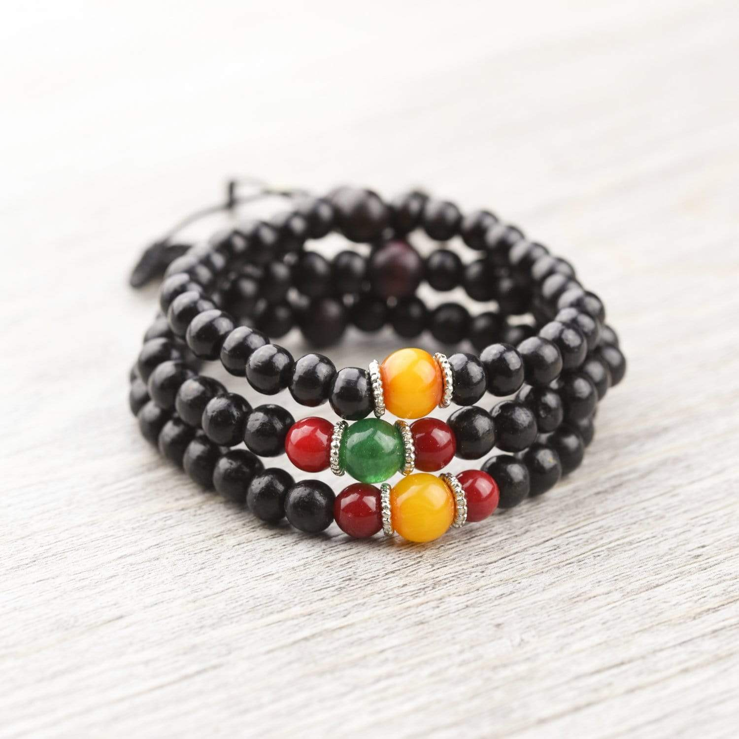 Wrist Malas Our Rosewood Wrist Mala Stack! - NEW wm001-stack