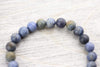 Wrist Malas Patience and Healing Dumortierite Wrist Mala wm442