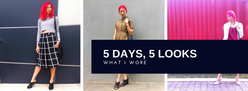 What I Wore: 5 Days, 5 Looks