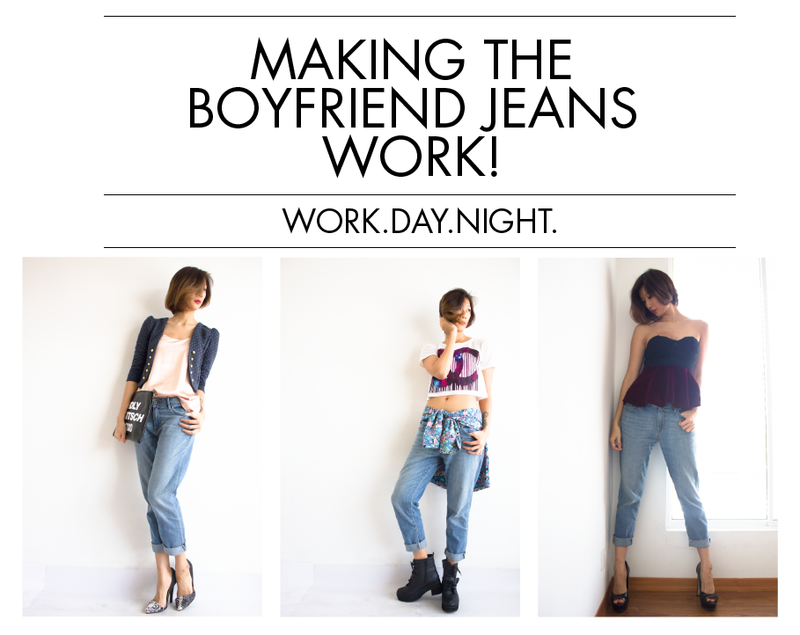 Making the Boyfriend Jeans Work!