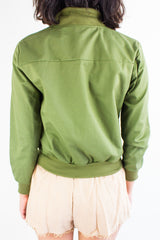 Commander Femme Bomber Jacket in Army Green