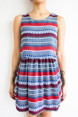 Full Prints Ahead Dress -  - Peep Boutique - www.peepb.com - 2