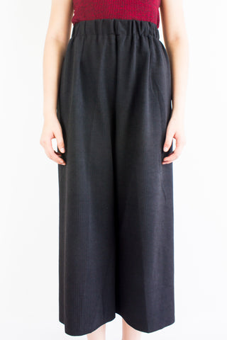 Let's Hang Culottes in Black