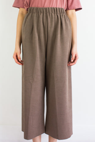 Let's Hang Culottes in Chocolate Brown