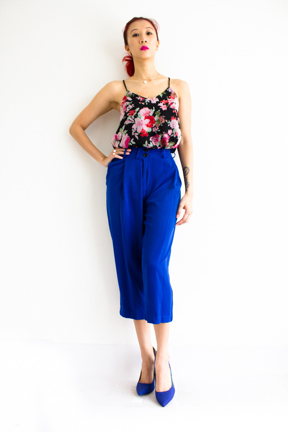 Tania Tapered Trousers -  - Peep Boutique - www.peepb.com - 9