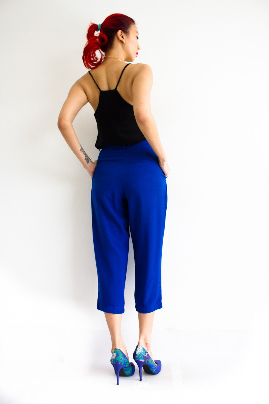 Tania Tapered Trousers -  - Peep Boutique - www.peepb.com - 12