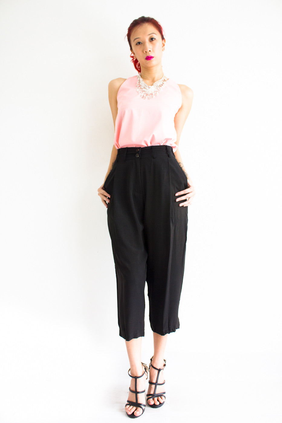 Tania Tapered Trousers -  - Peep Boutique - www.peepb.com - 16
