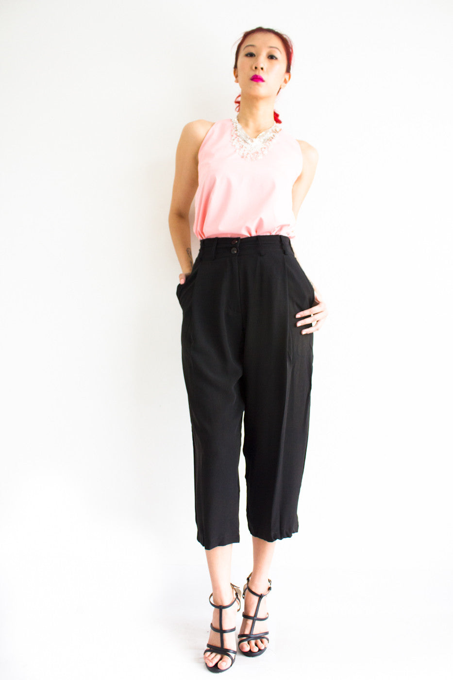 Tania Tapered Trousers -  - Peep Boutique - www.peepb.com - 17