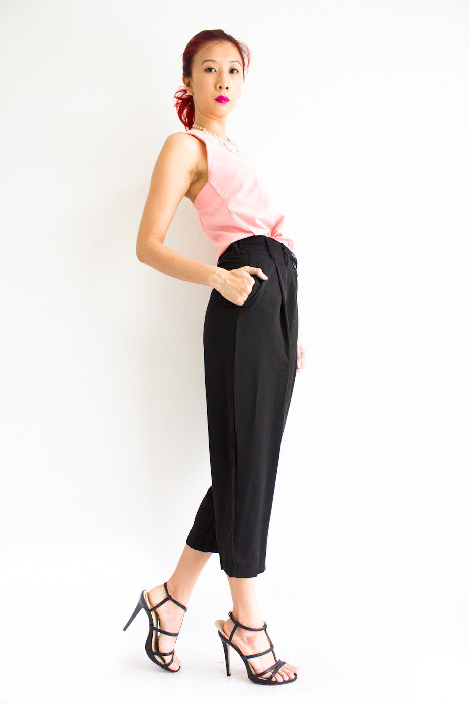 Tania Tapered Trousers -  - Peep Boutique - www.peepb.com - 18