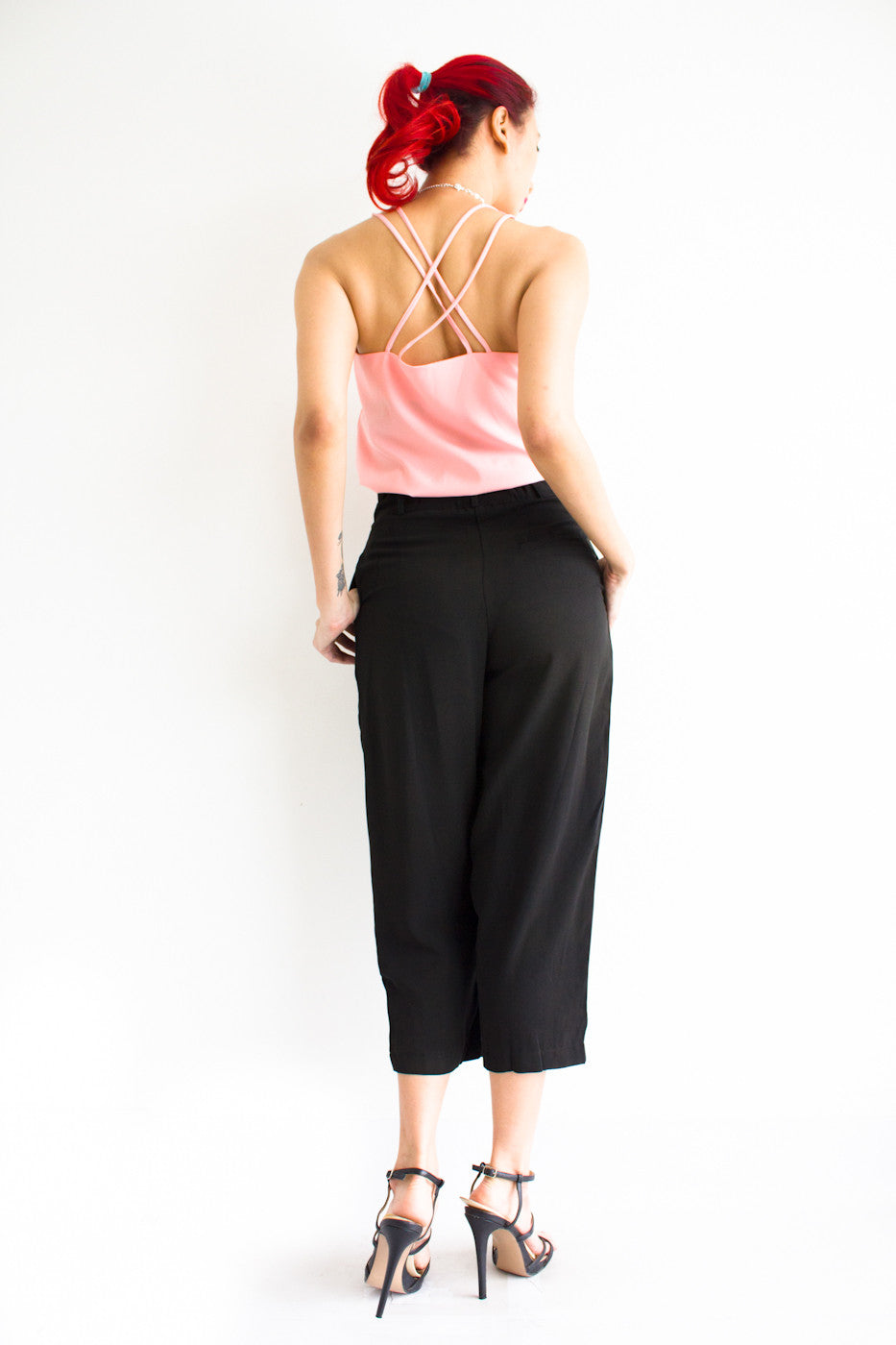 Tania Tapered Trousers -  - Peep Boutique - www.peepb.com - 19