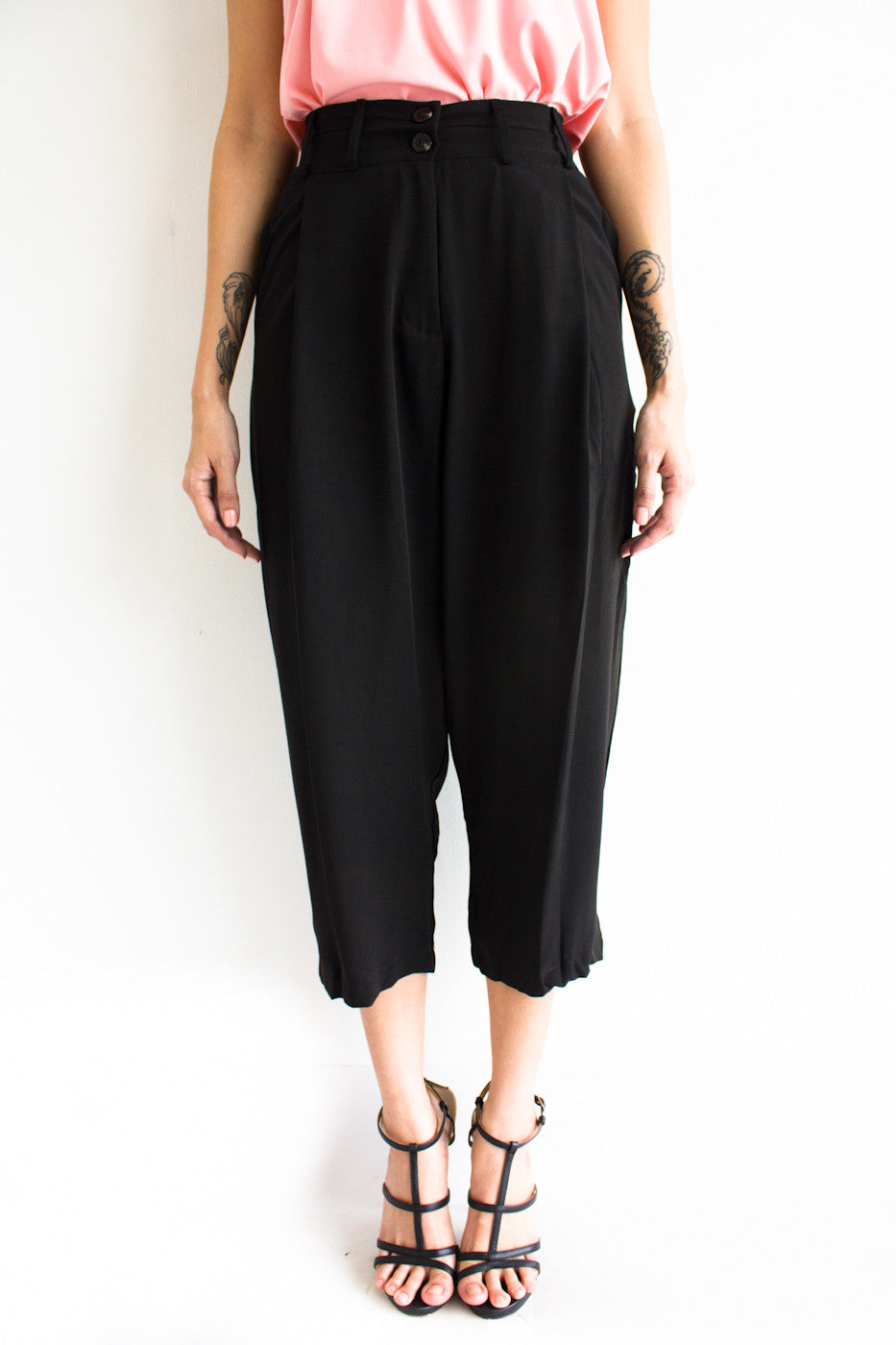 Tania Tapered Trousers -  - Peep Boutique - www.peepb.com - 20