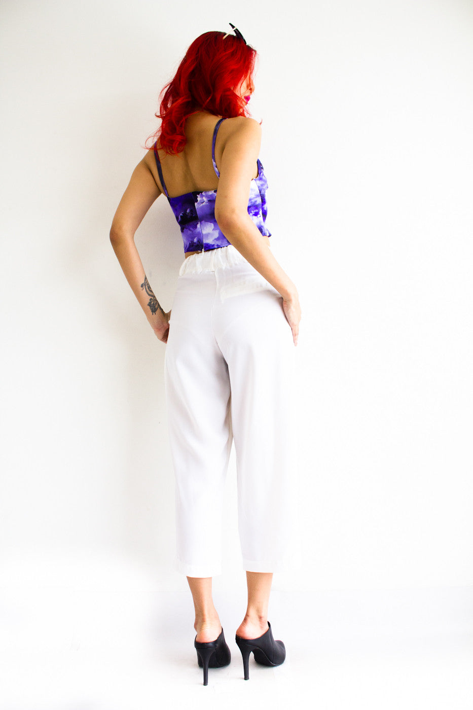 Tania Tapered Trousers -  - Peep Boutique - www.peepb.com - 8