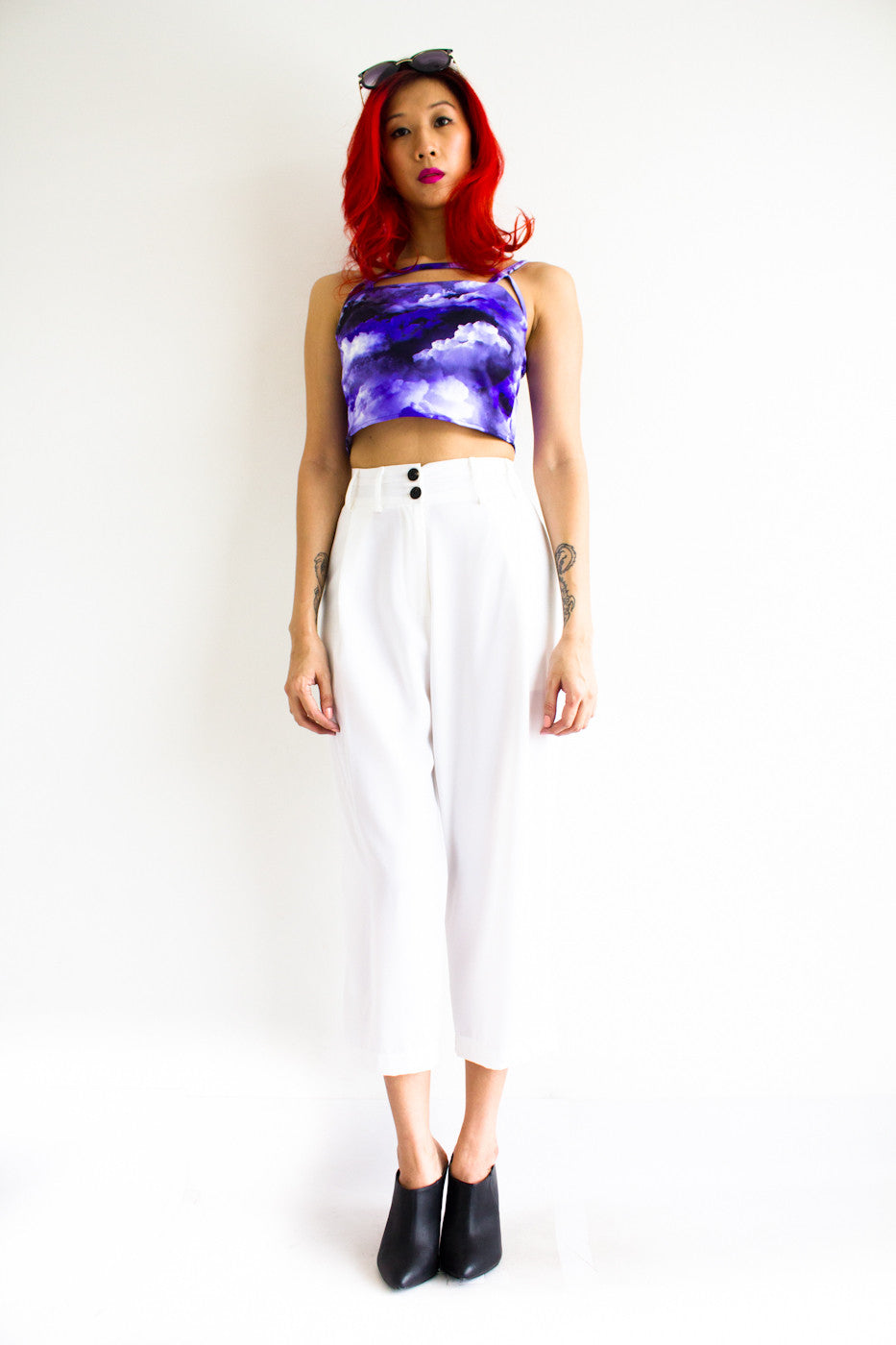 Tania Tapered Trousers -  - Peep Boutique - www.peepb.com - 5