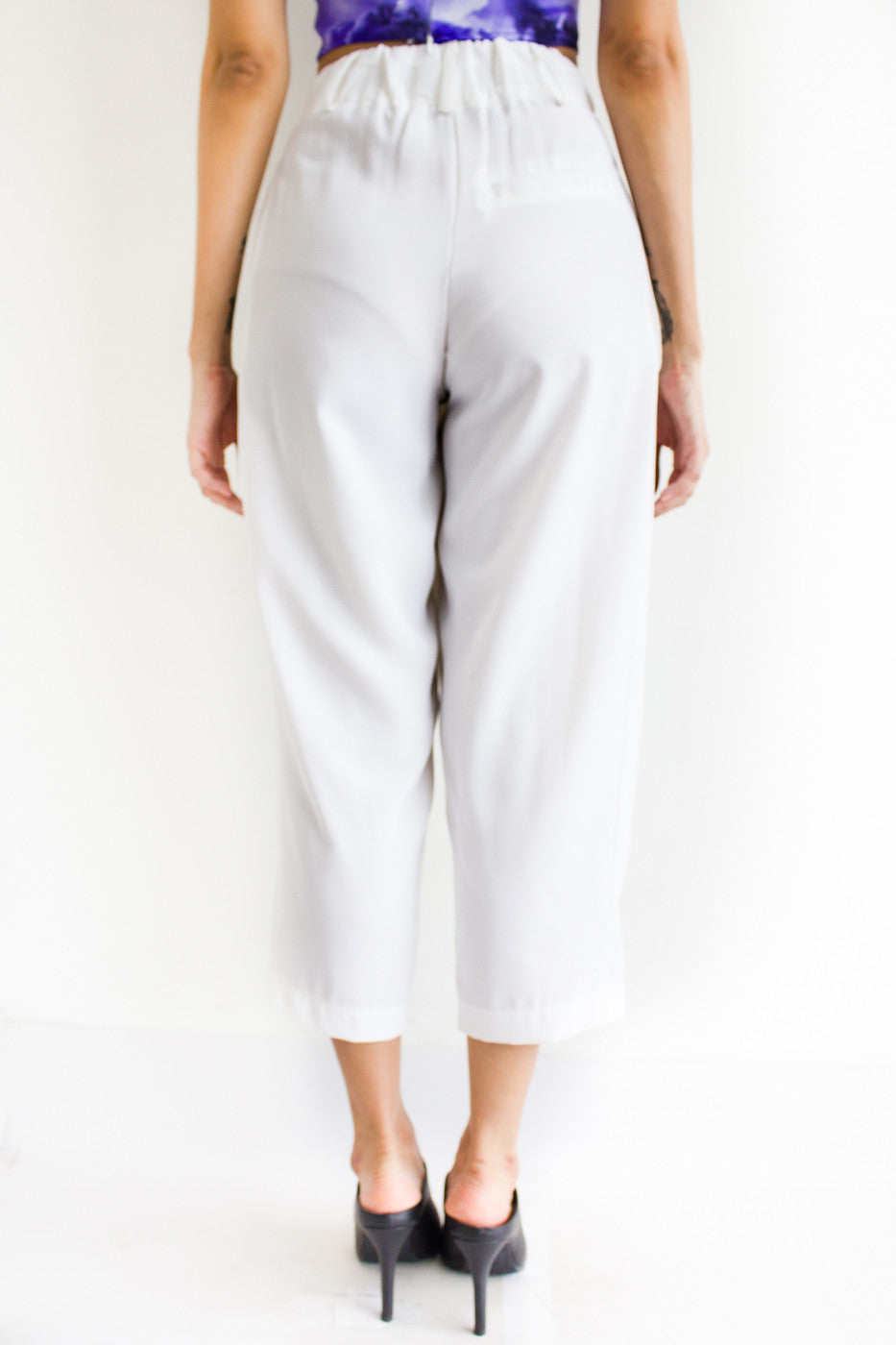 Tania Tapered Trousers -  - Peep Boutique - www.peepb.com - 3