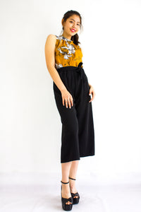 All Grown Up Floral Top in Camel Brown - TOPS - Peep Boutique