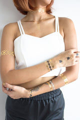 Metallic Temporary Tattoos -  - Peep Boutique - www.peepb.com - 4