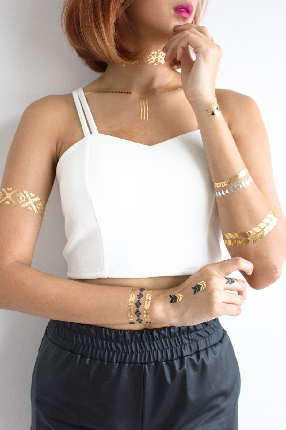 Metallic Temporary Tattoos -  - Peep Boutique - www.peepb.com - 5