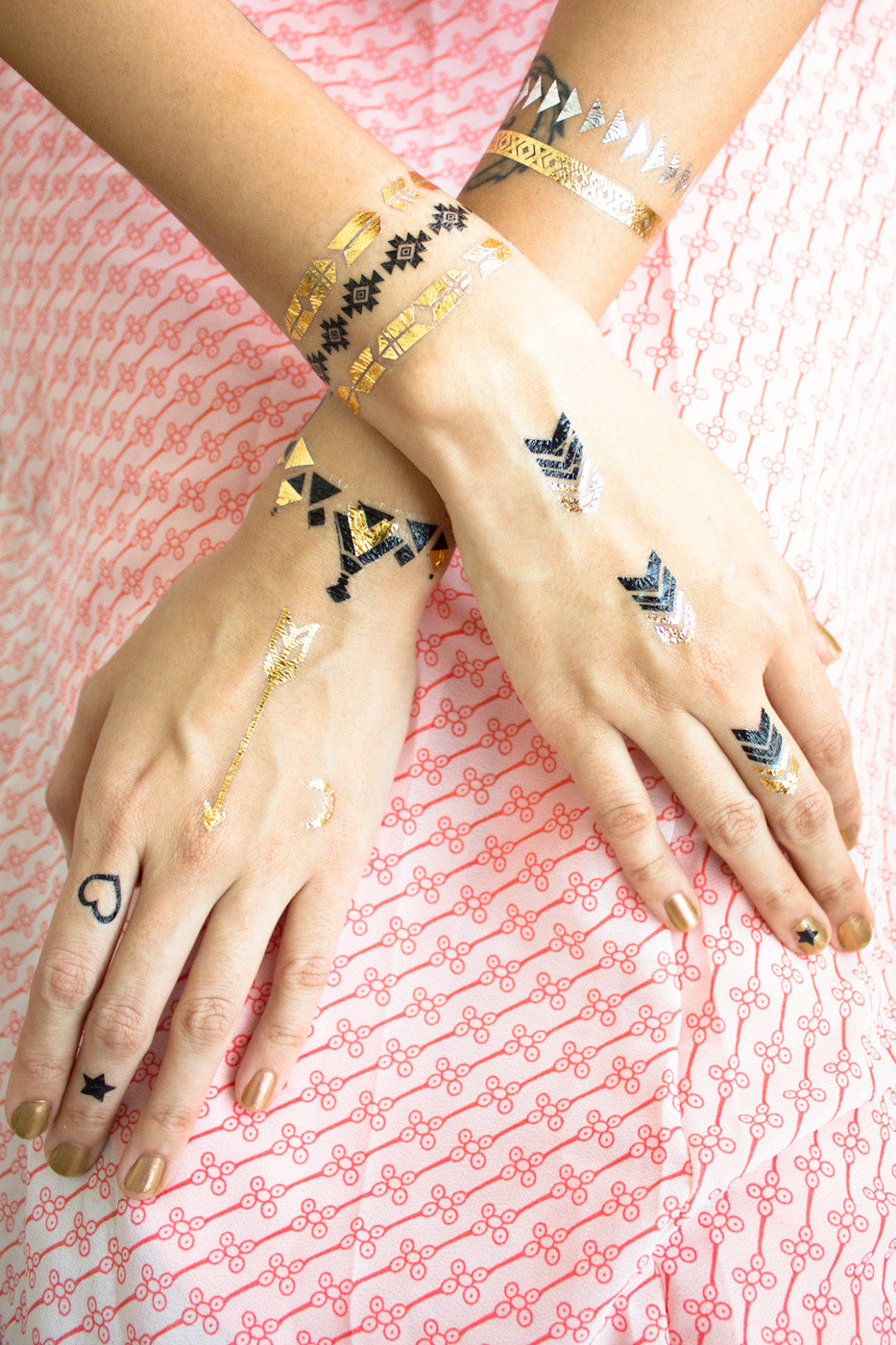 Metallic Temporary Tattoos -  - Peep Boutique - www.peepb.com - 10