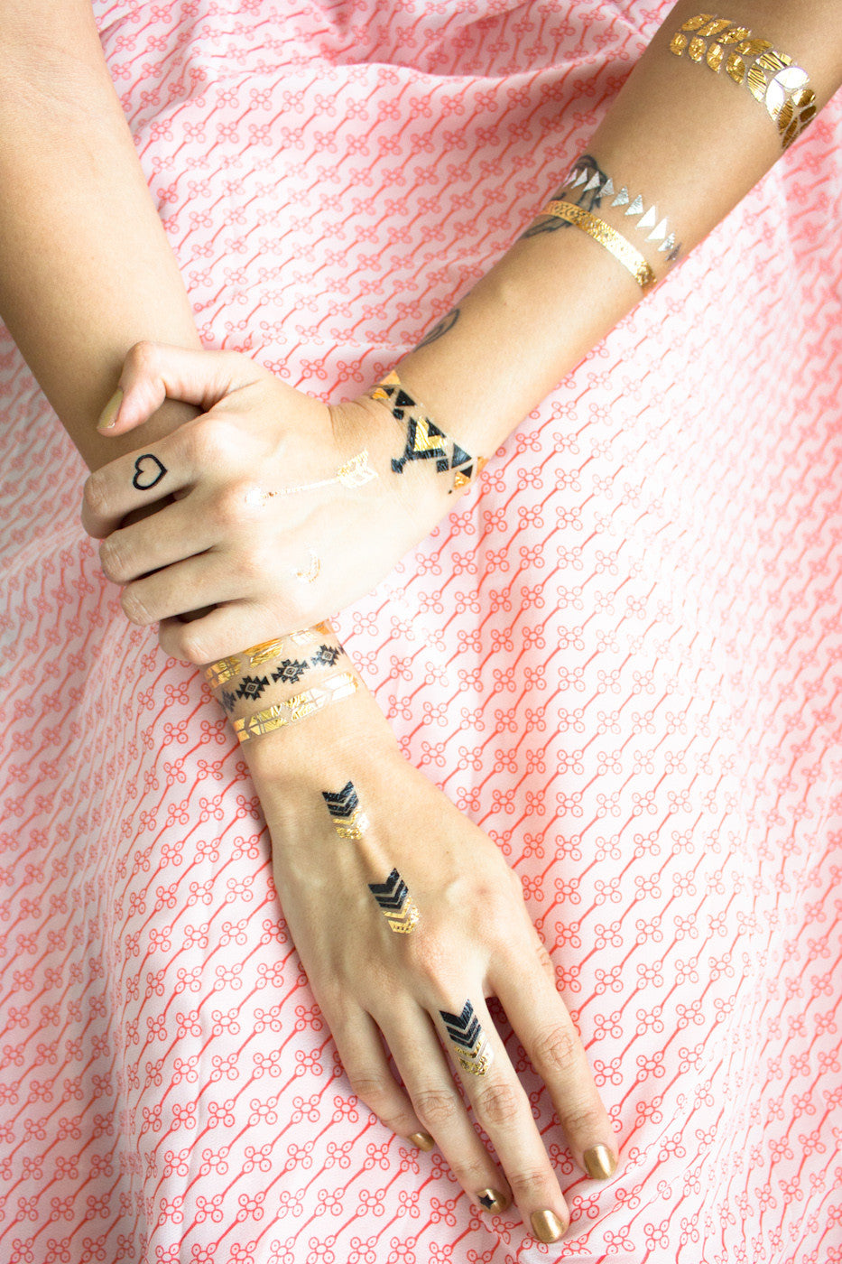 Metallic Temporary Tattoos -  - Peep Boutique - www.peepb.com - 11