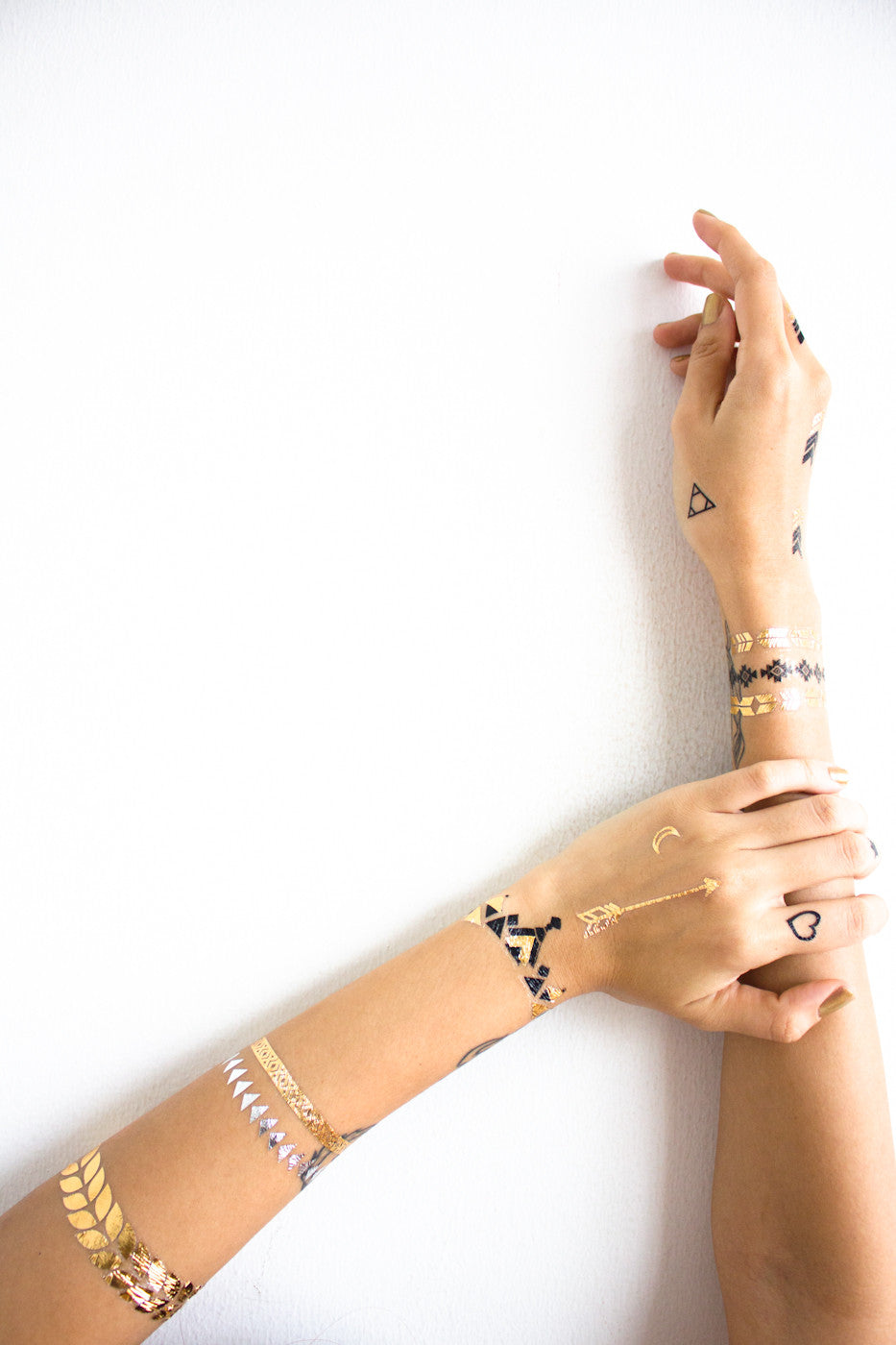 Metallic Temporary Tattoos -  - Peep Boutique - www.peepb.com - 1