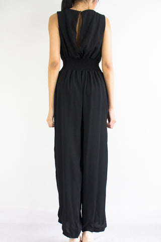 Dana Duotone Jumpsuit in Black