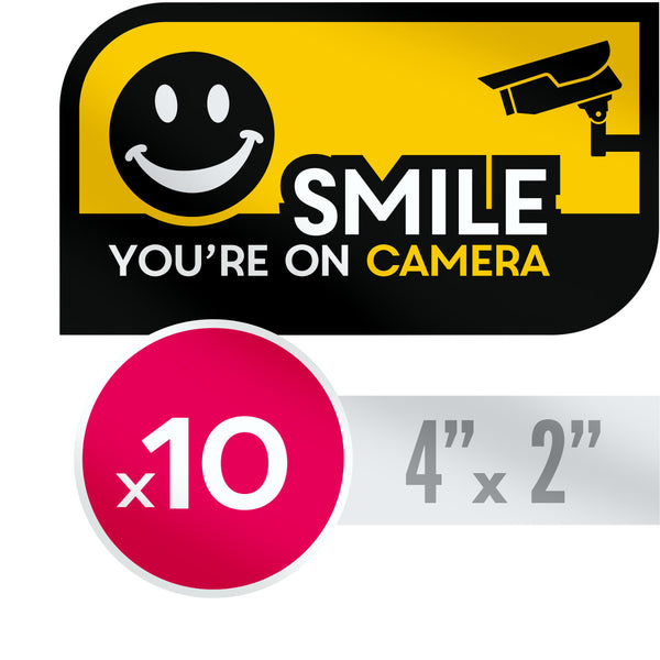 Smile youre on camera stickers