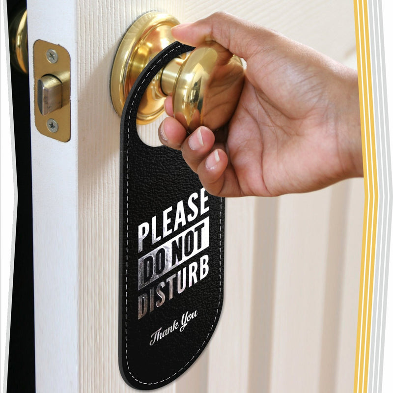 Do Not Disturb/Please Make Up Room Hotel Door Hanger, 2-Pack