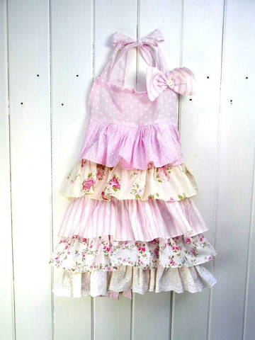 """Pretty in Pink"" Apron (Child)"