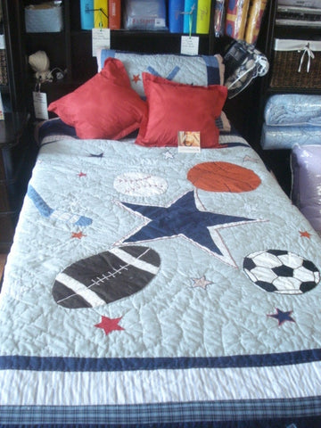 All Star Quilt (Twin)