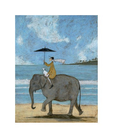 """On the Edge of the Sand"" - Sam Toft"