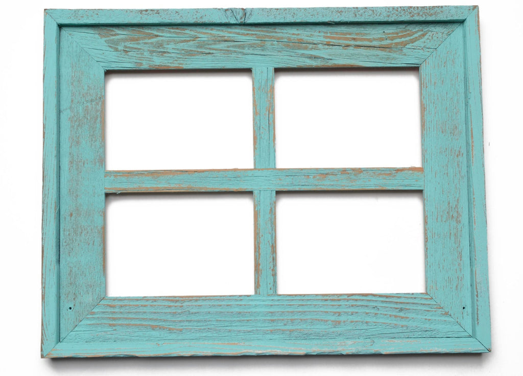 Window Pane Picture Frame 4 hole 5x7 Collage Frame