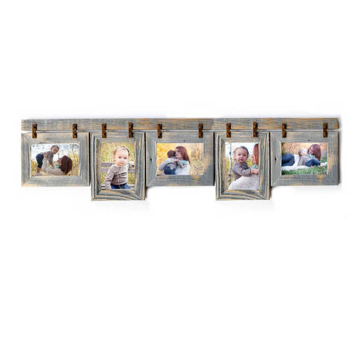 5 hole 4x6 Collage Picture Frame