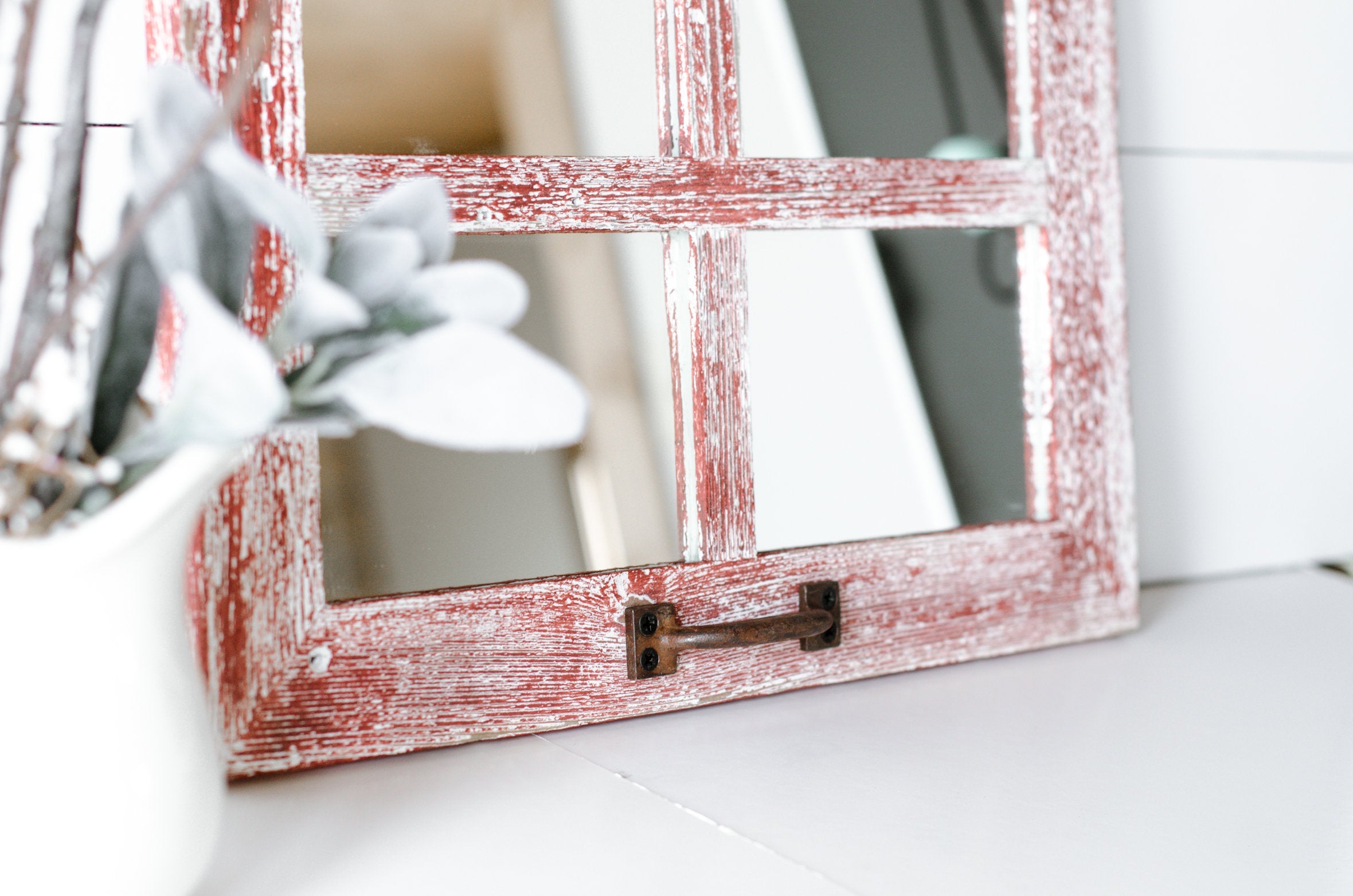 Farmhouse Wall Decor Mirror