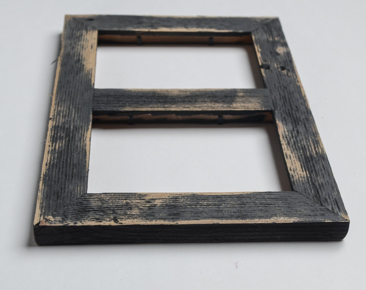 2 hole 4x6 Barnwood Collage Frame-Rustic Picture Frame-Home Decor ...