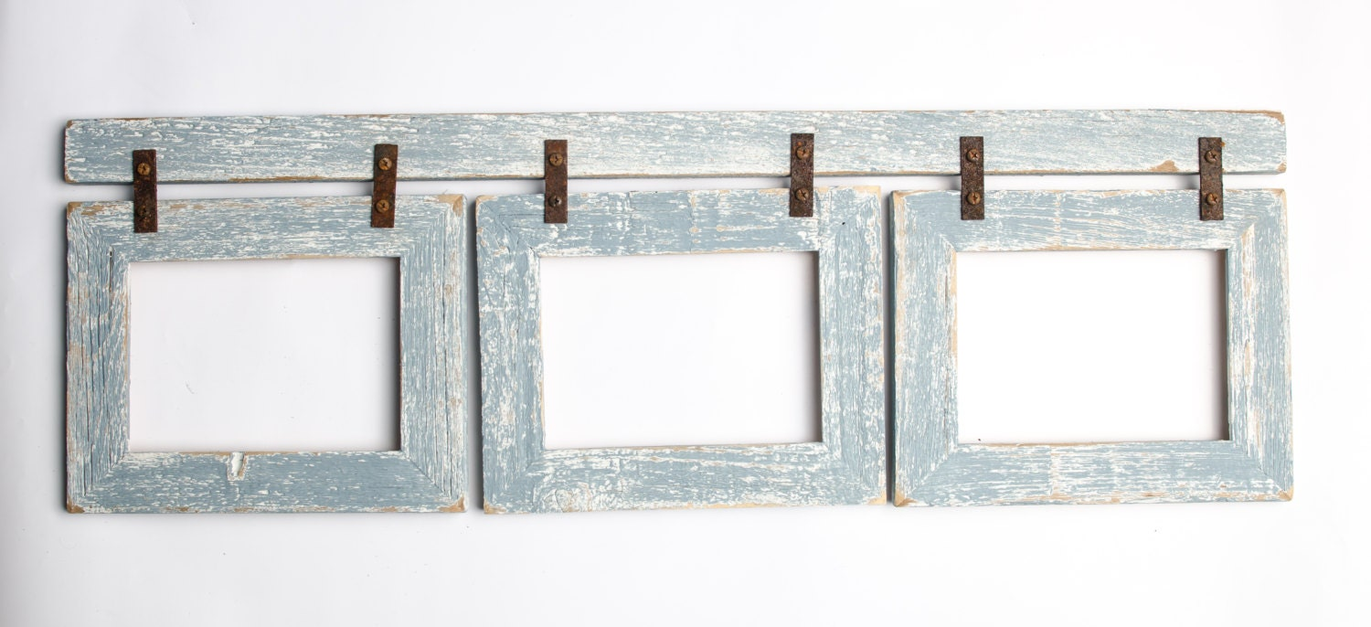 rustic picture frames collages.  Rustic Rustic Picture Frames Collages Barnwood Collage Turquoise Frame 3 5x7  Multi Opening Frame To Rustic Picture Frames Collages