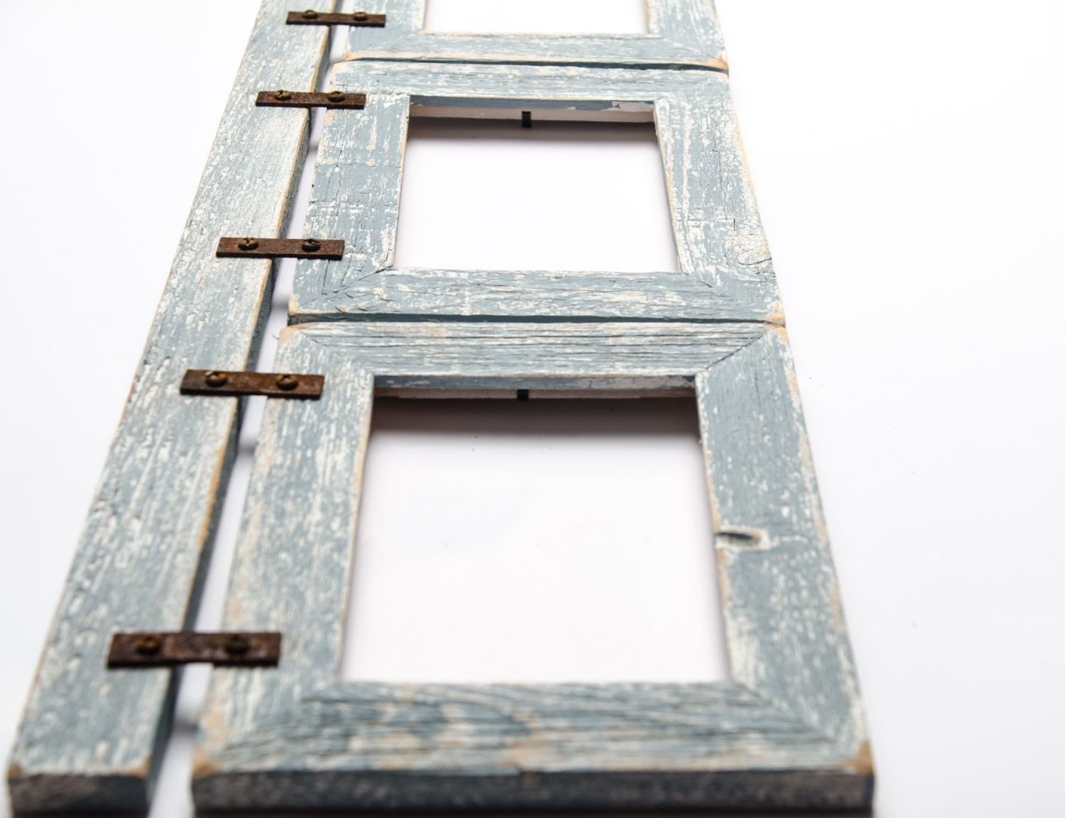 Barnwood Collage 3) 8x10 Multi Opening Frame-Rustic Picture Frame ...