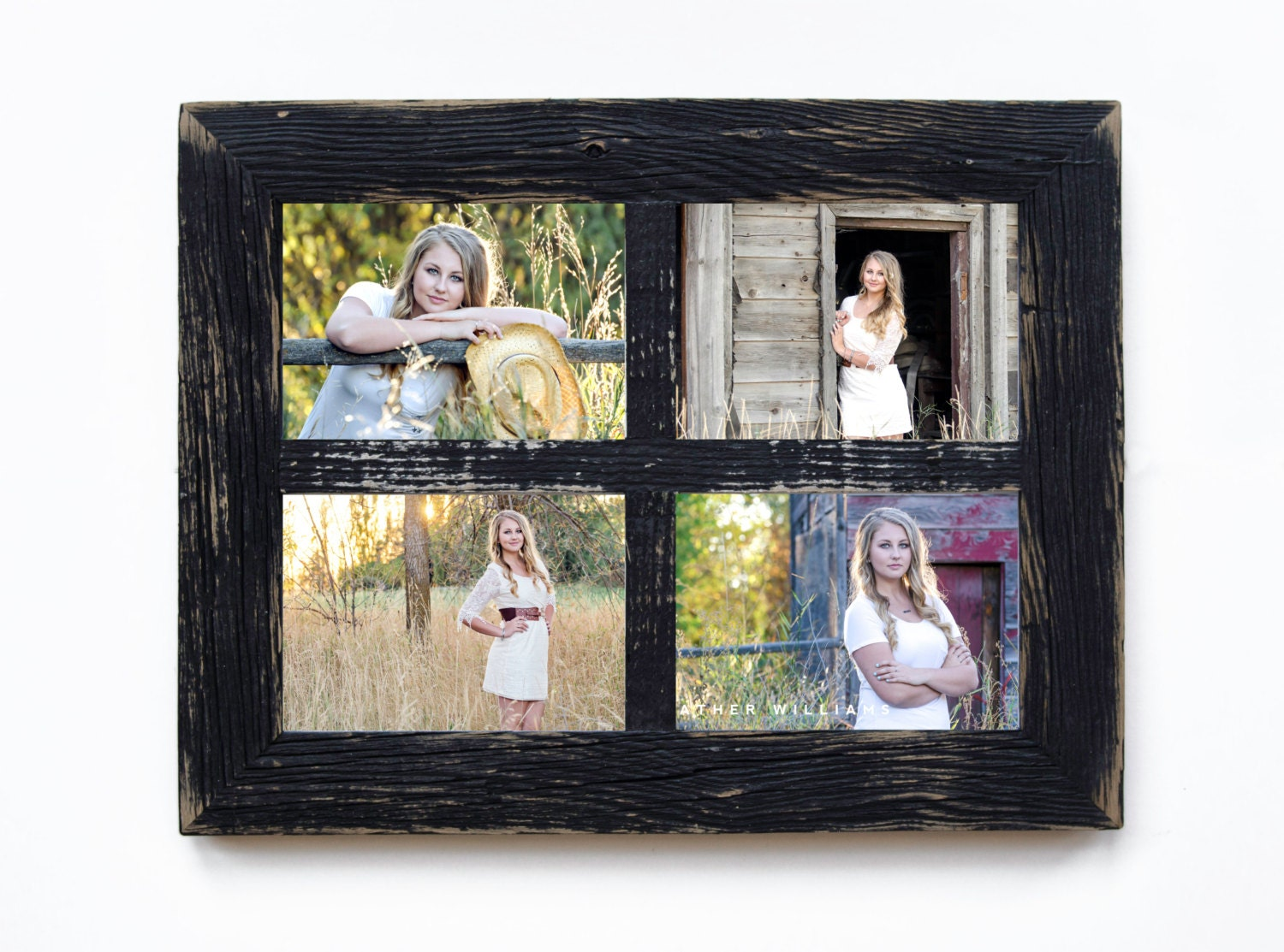 2 Quot 5x7 Barn Window Collage Picture Frame Christmas Gift