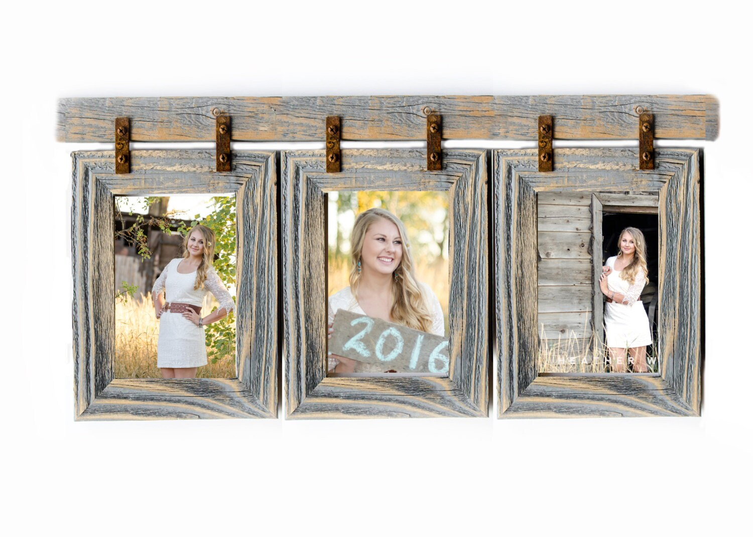 Picture Frame Collage 3) 4x6 Multi Opening Frame – rustymilldecor