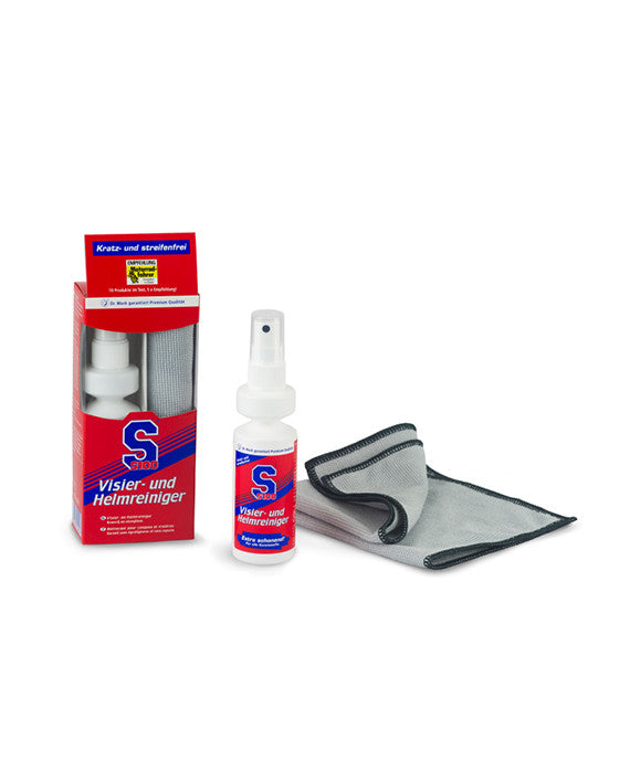 S100 Visor & Helmet Cleaner with Microfiber cloth