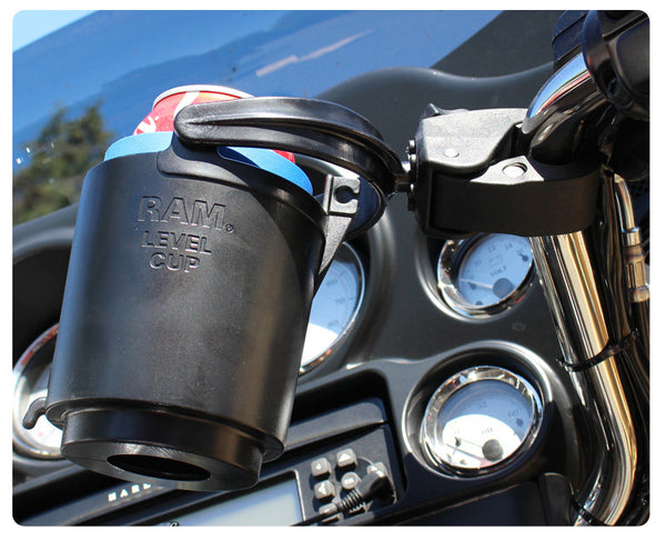 RAM Tough-Claw™ Mount with Level Cup™ Drink Holder