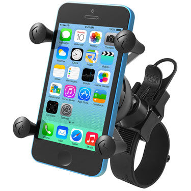 RAM EZ-Strap™ Rail Mount with Universal X-Grip® Cell Phone Cradle