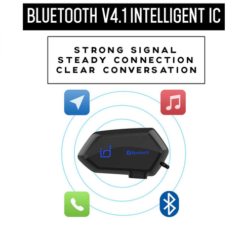 id221 Moto A1 Bluetooth communicator