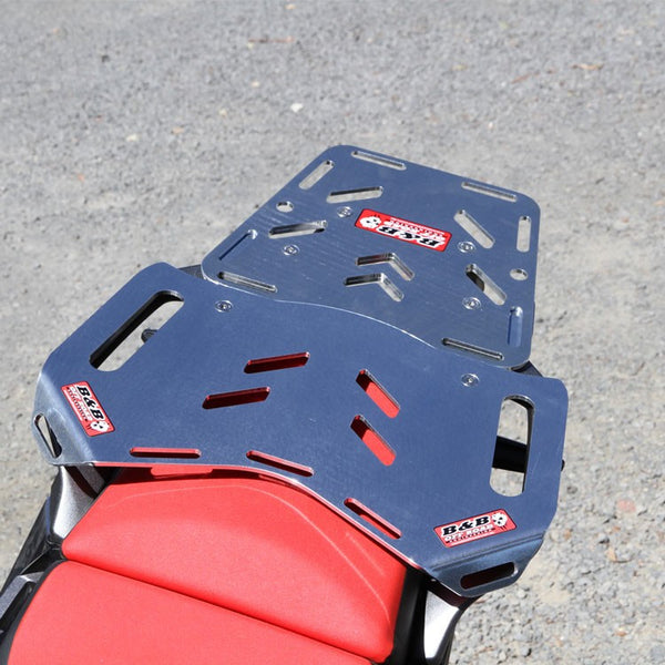 B & B Off Road Engineering - Rear Luggage Plate - Honda CRF1000L Big Tour with Mini